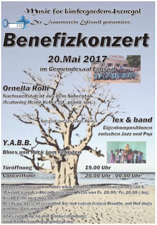 k4s Benefiz Flyer